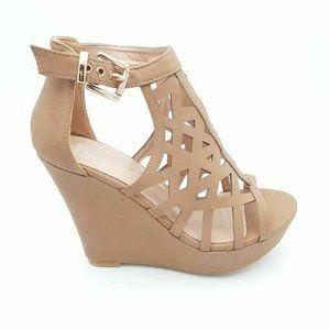 TOP MODA Womens Pecan 82 Gladiator Sandal 5.5 New